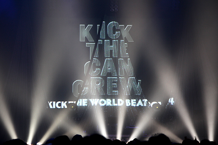 FM802 MEET THE WORLD BEAT スピンオフライブKICK THE CAN CREW「KICK THE WORLD BEAT」